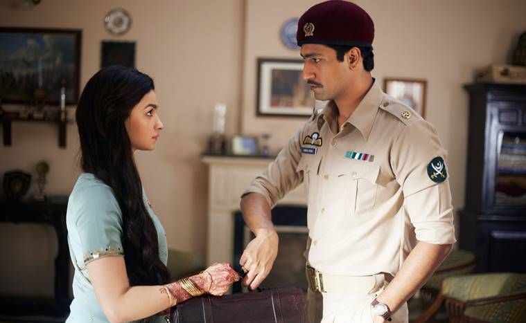 Raazi actors Alia Bhatt and Vicky Kaushal