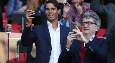 Rafael Nadal caught in the middle of football controversy in Madrid