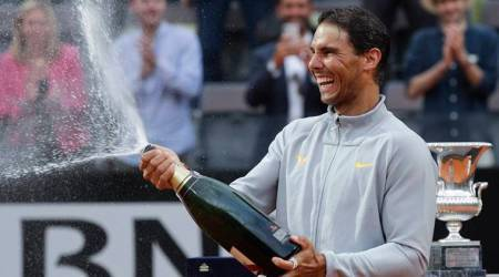 Ken Rosewall expects to hand Rafael Nadal trophy then head home