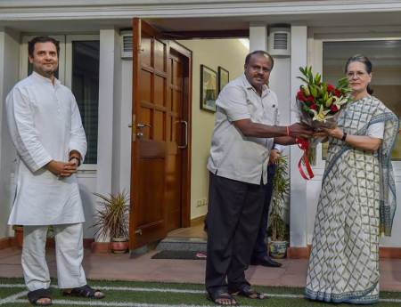 Congress gets Karnataka Dy CM, Speaker posts ahead of Kumaraswamy swearing-in