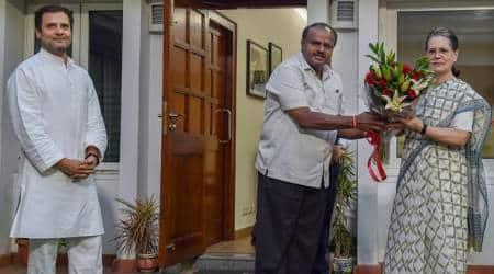 Kumaraswamy swearing-in LIVE: JD(S) leader to take oath as Karnataka CM today, Congress gets Deputy CM