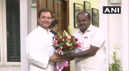 Karnataka: Kumaraswamy promises stable govt; Sonia, Rahul to attend swearing-in ceremony