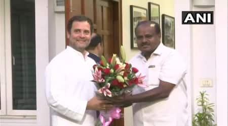 Karnataka: Kumaraswamy promises stable govt; Sonia, Rahul to attend swearing-inceremony