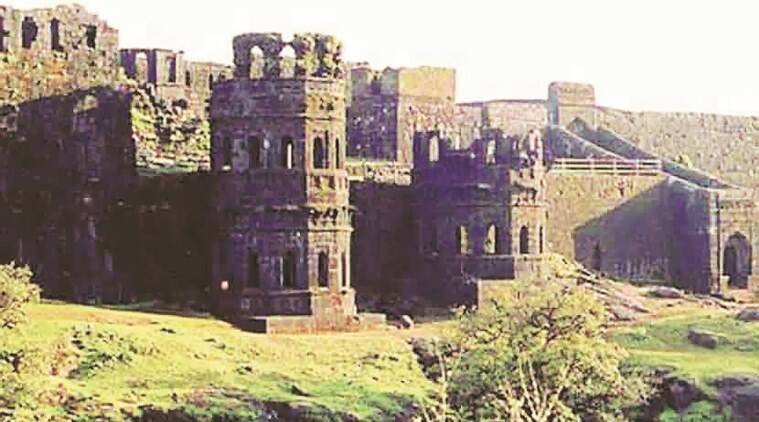 Raigad excavations
