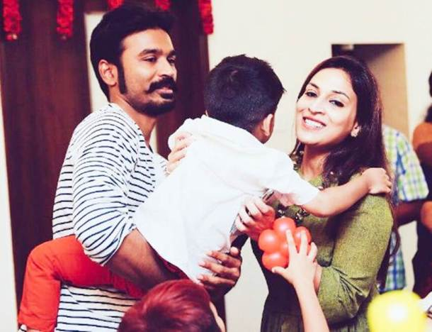 Dhanush and Aishwarya Rajinikanth