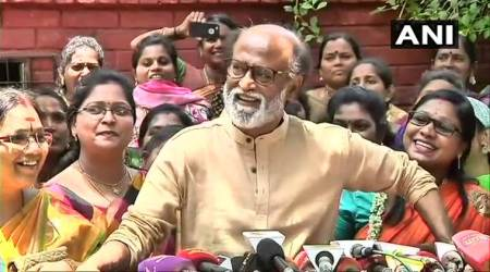 Rajinikanth, Rajinikanth on democracy, karnataka latest news, karnataka, karnataka news, yeddyurappa, yeddyurappa resigns, jds, congress, karnataka floor test, bjp, dk shivakumar, indian express
