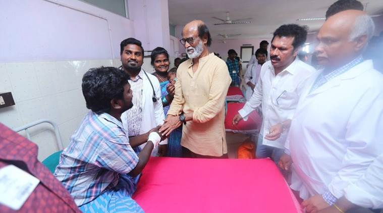 Rajinikanth expresses regret for losing cool at media interaction