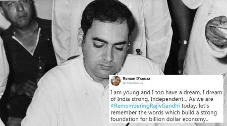 Rajiv Gandhi death anniversary: Twitterati remember the former PM