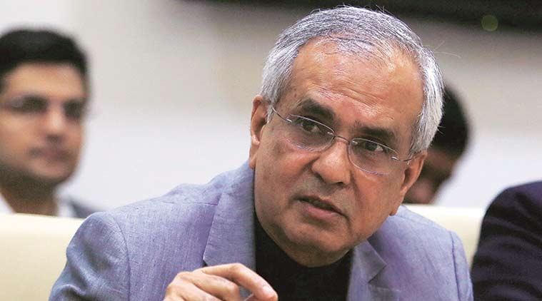 EC asks Niti V-C Rajiv Kumar to explain his comments on Congress' Nyay