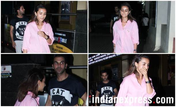 Rajkummar Rao with girlfriend Patralekha