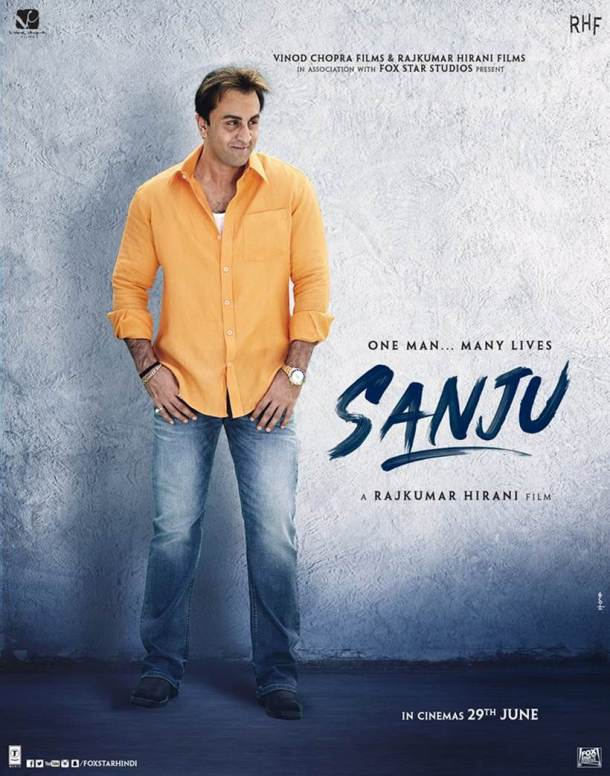 ranbir kapoor as sanjay dutt in Sanju