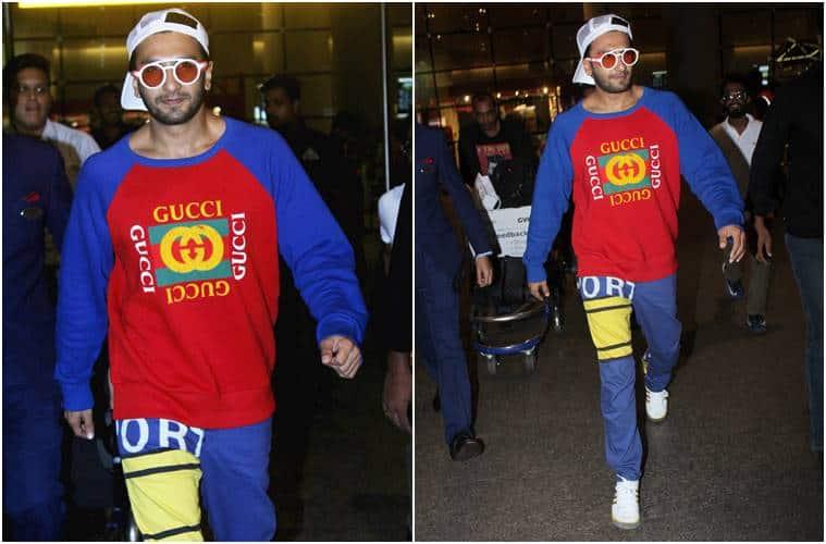 airport looks, bollywood airport style, Sonam Kapoor, Anushka Sharma, Ranveer Singh, Kangana Ranaut, janhvi kapoor, pooja hegde, Ayushmann Khurrana, celeb fashion, bollywood fashion, indian express, indian express news