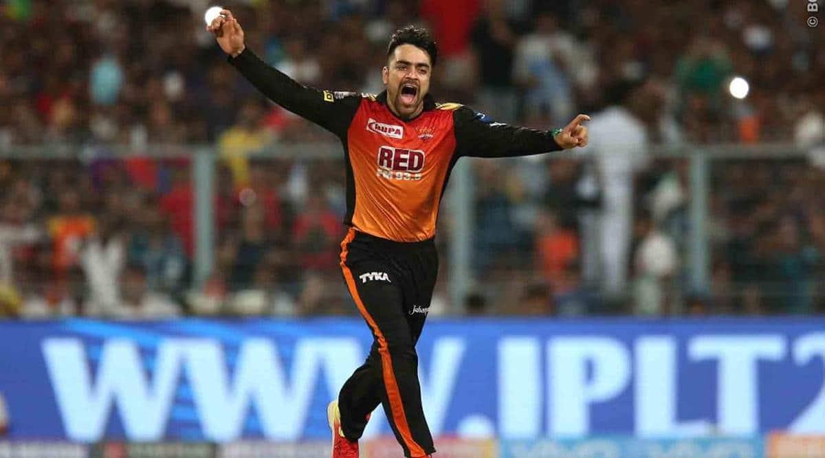 IPL 2018, Indian Premier League, Rashid Khan, SRH vs KKR, Kolkata Knight Riders, sports news, IPL news, Indian Express