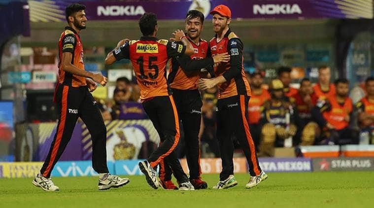 IPL 2018, Indian premier League, KKR vs SRH, Rashid Khan, Sunrisers Hyderabad, Kolkata Knight Riders, sports news, IPL news, Indian Express