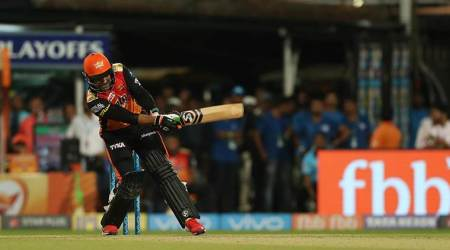 IPL 2018: Rashid Khan reproduces MS Dhoni's helicopter shot, watchvideo