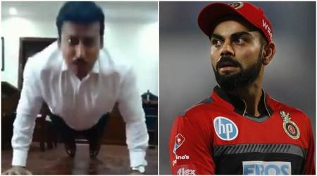 Union Minister Rajyavardhan Rathore issues fitness challenge to Virat Kohli, Saina Nehwal; watch video