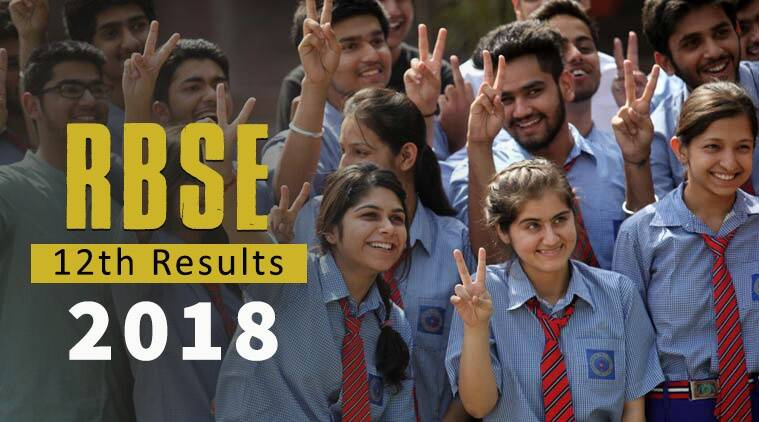 RBSE 12th Results 2018 Rajasthan Board announced on rajeduboard