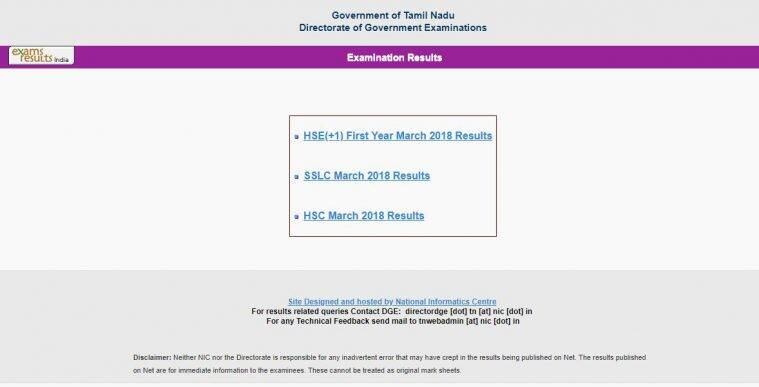 tnresults.nic.in, tn result 2018, tn hsc result 2018, tn plus one result 2018