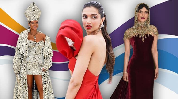 Deepika Padukone, Priyanka Chopra, Rihanna, Gigi Hadid, Kendall Jenner, Kim Kardashian, Katy Perry, cardi B, blake lively, amal clooney, ariana grande, zendaya, selena gomez, sarah jessica parker, jennifer lopez, celeb fashion, bollywood fashion, indian express, indian express news