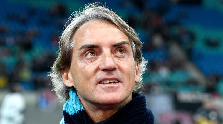 Former Man. City coach Mancini takes over as Italy Manager