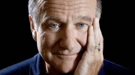 Robin Williams biography titled Robin