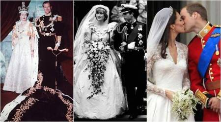 Ahead of Meghan Markle-Prince Harry's wedding; a look at history's most beautiful royal wedding dresses