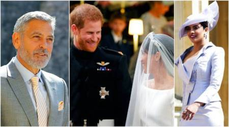 From George Clooney to Priyanka Chopra, celebrities attend the Royal Wedding of Meghan Markle and Prince Harry