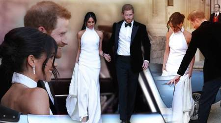Royal Wedding 2018: From regal to ravishing, Meghan Markle stuns in a lily white gown for her reception