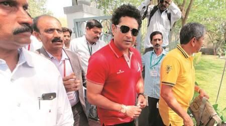 Where are the sports grounds, laments Sachin Tendulkar