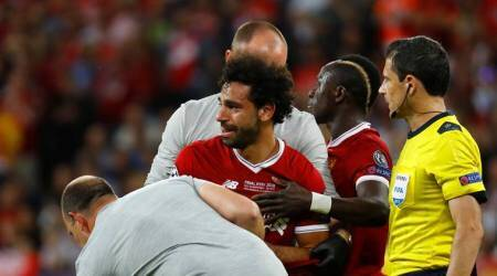 Mohamed Salah could take three to four weeks to recover, says Liverpoolphysio