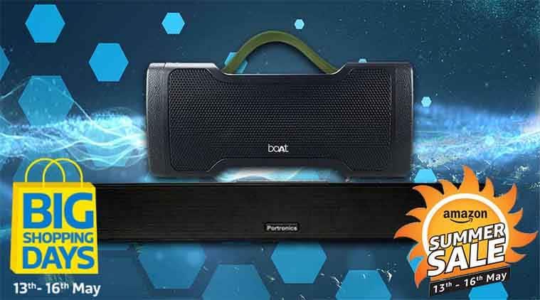 Bluetooth speaker summer sale 2018