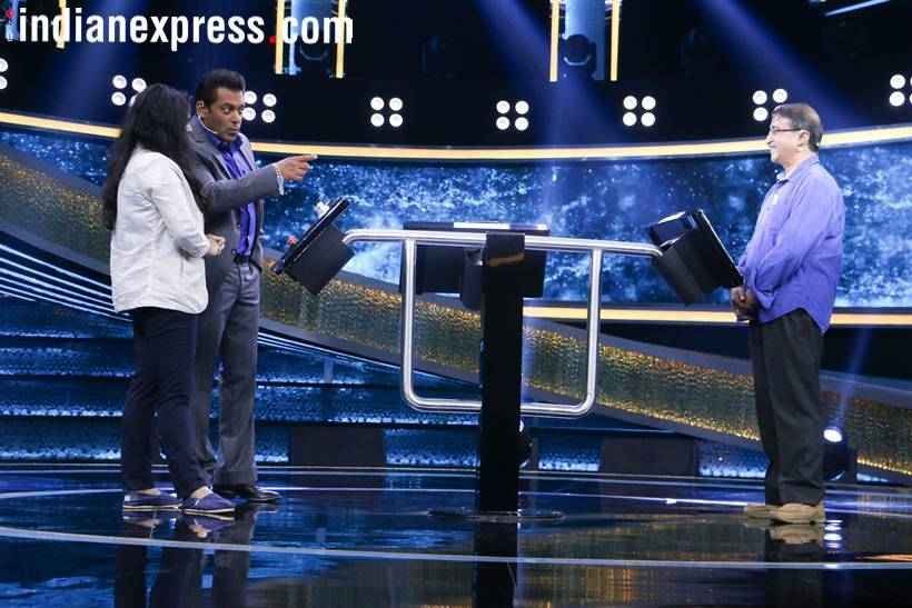 salman khan photos from the sets of dus ka dum