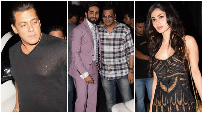 Salman Khan, Anil Kapoor, Mouni Roy seen at casting director Mukesh Chhabra's birthday bash
