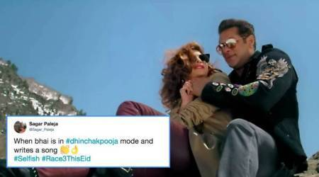 'Race 3' song 'Selfish': 'Salman Khan in Dhinchak Pooja mode?' Twitter trolls wonder