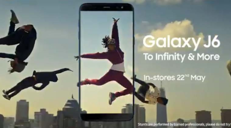 Samsung Galaxy J6 with Infinity Display launching in India on May 21