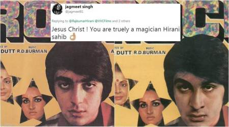 Sanju: Ranbir Kapoor looks like a replica of Sanjay Dutt in this poster; Twitterati agree
