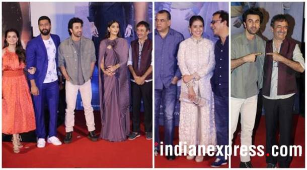 Sanju trailer launch photos