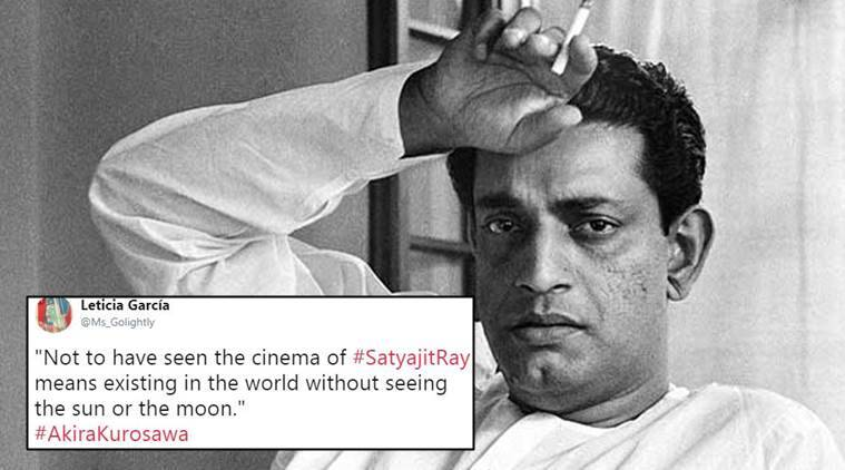 satyajit ray, satyajit ray films, satyajit birth anniversary, satyajit ray films tweets,satyajit ray films, indian express, indian express news
