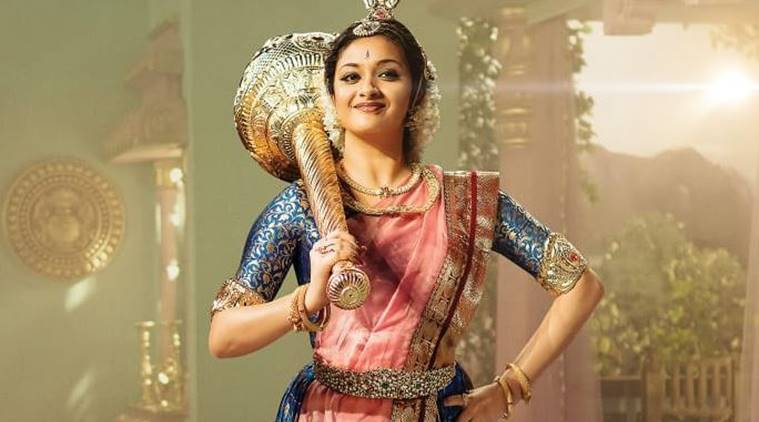 keerthy suresh played Savitir in Mahanati