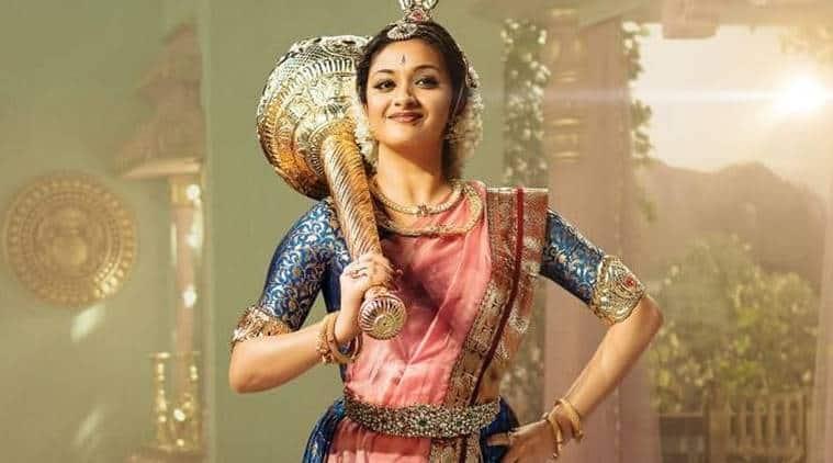 keerthy suresh played Savitir in Mahanati
