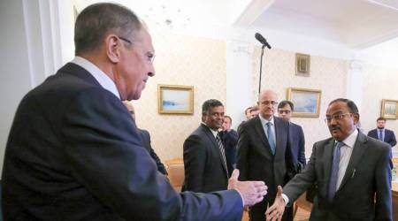 Ajit Doval, Russia's FM Sergei Lavrov discuss ways to combat terror