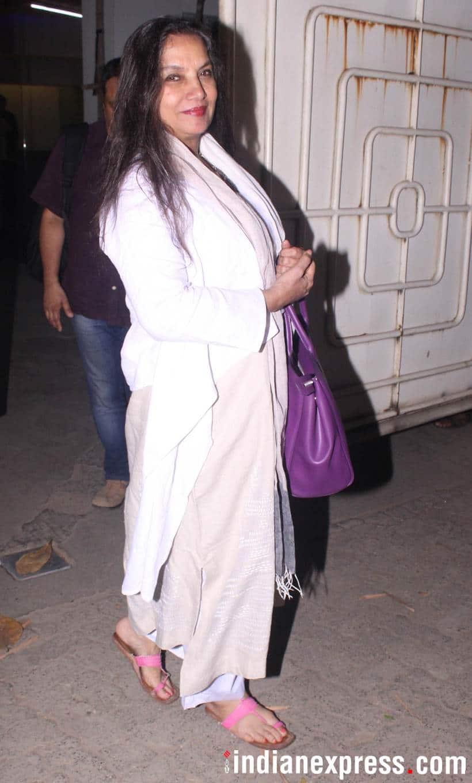 Shabna Azmi