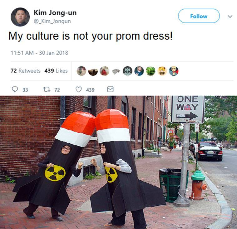 My Culture Is Not Your Goddamn Prom Dress Twitterati Turn The