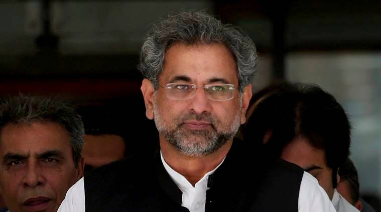 Shahid Khaqan Abbasi, Shahid Khaqan Abbasi arrested, Shahid Khaqan Abbasi held, Shahid Khaqan Abbasi lng case, Shahid Khaqan Abbasi corruption case, ex pakistan pm arrested, indian express news