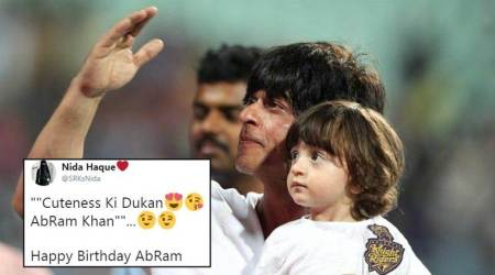 Twitterati flood wishes on AbRam's birthday