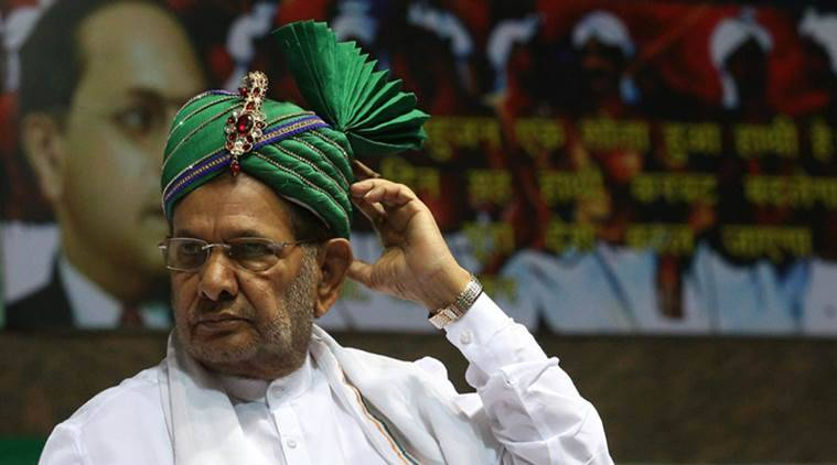 Give rest to Vasundhra, she has become 'very fat': Sharad Yadav in Rajasthan