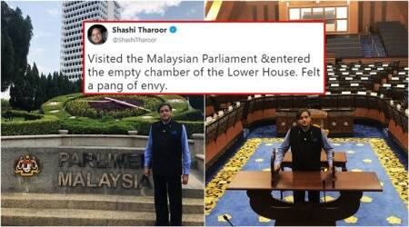 Here is why Shashi Tharoor 'felt a pang of envy' after his visit to Malaysian Parliament