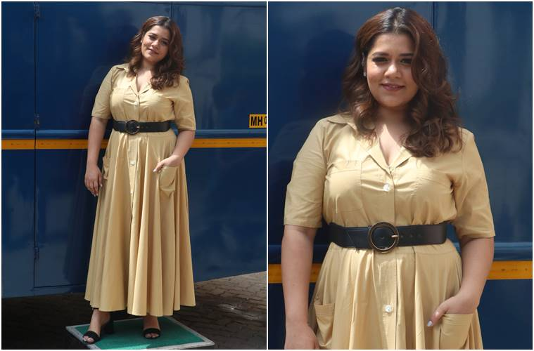 Image result for latest images of Shikha Talsania from movie veerey di wedding