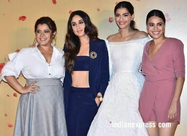 Veere Di Wedding Outfits.Veere Di Wedding A Look Back At Kareena Kapoor Sonam Kapoor Swara