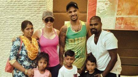 IPL 2018: Shikhar Dhawan meets 'biggest fan', posts picture on social media